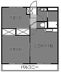K・グランドソレーユ[3階]の間取り