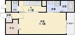 セレノアロッジオ7[1階]の間取り