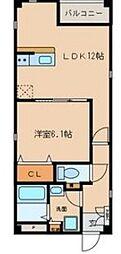 LUCEII[4階]の間取り