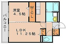 ロイヤルエスト3[2階]の間取り