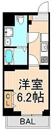 ABODE東浅草[6階]の間取り