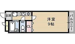 フォレスト醍醐[111号室号室]の間取り