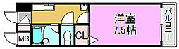IBC中百舌鳥[5階]の間取り
