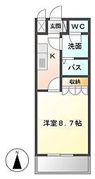 Pear-Court (ピィアコート)[203号室]の間取り