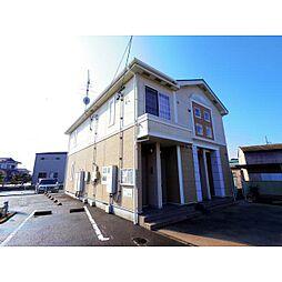 静岡県焼津市田尻の賃貸アパートの外観
