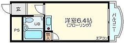 マリッシュ新大阪[4階]の間取り