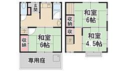 [テラスハウス] 兵庫県川西市南花屋敷1丁目 の賃貸【/】の間取り