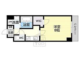 Osaka Metro長堀鶴見緑地線 蒲生四丁目駅 徒歩7分の賃貸マンション 3階1Kの間取り