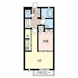 シャーメゾン和郷[1階]の間取り