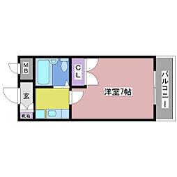 NTB-1[2階]の間取り