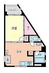 TDレジデンス[3階]の間取り