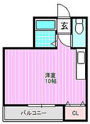 M&Mタチバナ[1階]の間取り