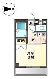 メゾン志賀[2階]の間取り