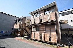 大阪府東大阪市横小路町4丁目の賃貸アパートの外観