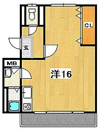 海野ビル[2階]の間取り