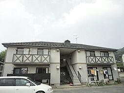 リゾット花房B棟[1階]の外観