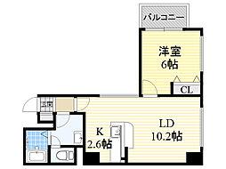 北海道札幌市中央区北3条東2丁目の賃貸マンションの間取り