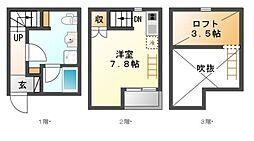 LE COCON豊田B棟[1階]の間取り