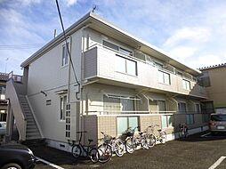 宮城県仙台市太白区富沢3丁目の賃貸アパートの外観