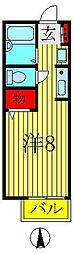マリーゴールドA・B[A102号室]の間取り