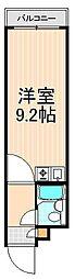 花川戸マンション[702号室]の間取り