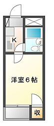 ジュネパレス幕張本郷第5[2階]の間取り