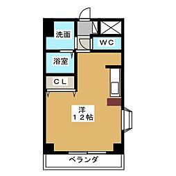 Avanti YASHIRODAI[2階]の間取り