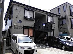 神奈川県平塚市河内の賃貸アパートの外観