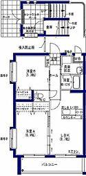 宮崎県宮崎市大字小松の賃貸マンションの間取り