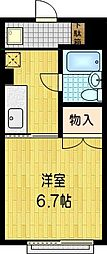 SKBマンション[403号室]の間取り