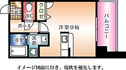 J・grace堺町[504号室]の間取り