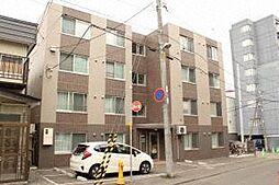 北海道札幌市白石区本郷通7丁目南の賃貸マンションの外観