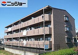愛知県あま市篠田西鳥の賃貸マンションの外観