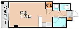 プレアール原田[7階]の間取り
