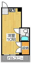 ル・松尾[306号室]の間取り