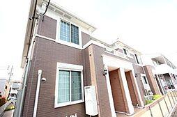 愛知県名古屋市中川区吉津4の賃貸アパートの外観