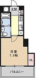 アクアプレイス京都洛南II[A301号室号室]の間取り