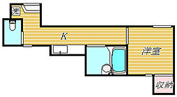 Lavita高円寺[1階]の間取り