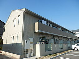 大阪府堺市西区神野町2丁の賃貸アパートの外観