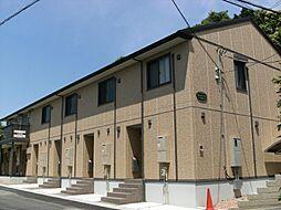 埼玉県川口市峯の賃貸アパートの外観