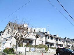 愛知県額田郡幸田町大字深溝字三角田の賃貸アパートの外観
