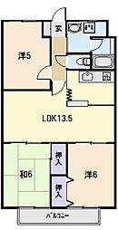 CENTURY HIGHLAND[13階]の間取り
