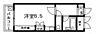間取り,ワンルーム,面積20.06m2,賃料4.2万円,広島電鉄5系統 比治山橋駅 徒歩10分,広島電鉄5系統 南区役所前駅 徒歩12分,広島県広島市中区宝町