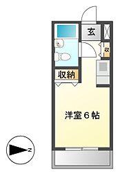 メゾン・ド・ティセ[3階]の間取り