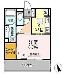 Loco☆MocoⅣ[1階]の間取り