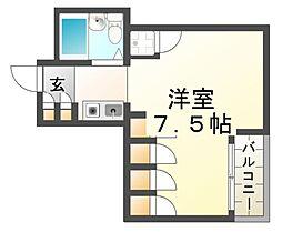 プレアール立花[5階]の間取り