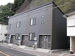 神奈川県逗子市山の根3丁目の賃貸アパートの外観