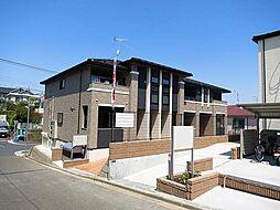 神奈川県川崎市多摩区南生田1丁目の賃貸アパートの外観