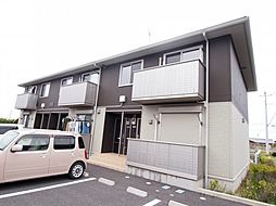 茨城県神栖市奥野谷の賃貸アパートの外観