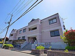 京都府相楽郡精華町桜が丘2丁目の賃貸マンションの外観